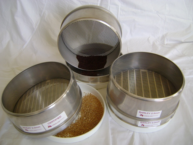 Aluminium Grain Sieves